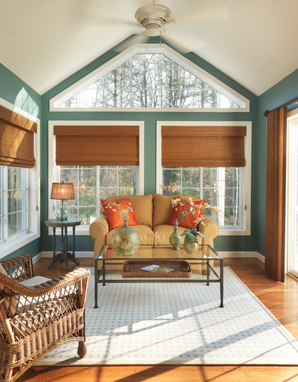 Traditional Porch by Mandeville Canyon Design