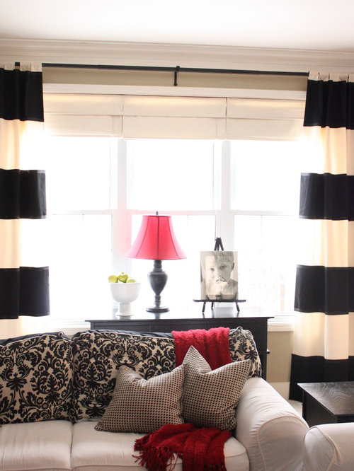Striped Curtains Ideas, Pictures, Remodel and Decor