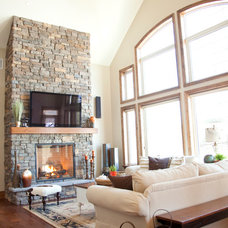 Traditional Family Room by Lakeshore Designs