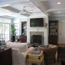 Traditional Family Room by Eubank Design Concepts