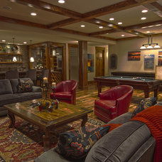 Traditional Family Room by Eden Design