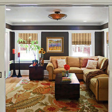 Traditional Family Room by RANERE DESIGN GROUP