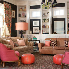 Traditional Family Room by Nest Architectural Design, Inc.