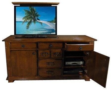 Retractable Tv Home Design Ideas Renovations Amp Photos