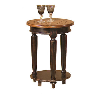 Country Vista Round End Table