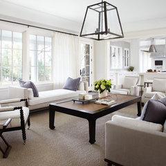 traditional family room by Culligan Abraham Architecture