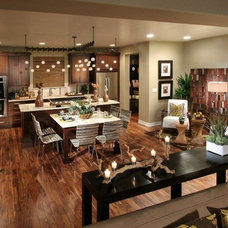 Contemporary Family Room by The Kitchen Showcase, Inc.