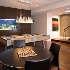 Contemporary Family Room by FRICANO CONSTRUCTION CO