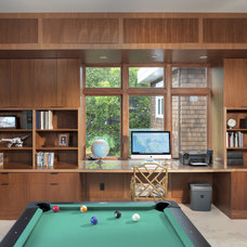Contemporary Family Room by Rossington Architecture