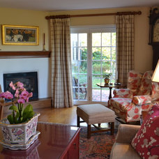 Traditional Family Room by Sweetwater Design