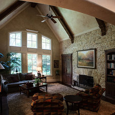 Traditional Family Room by Desco Fine Homes