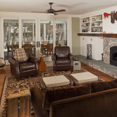 Traditional Family Room by Northway Construction Services