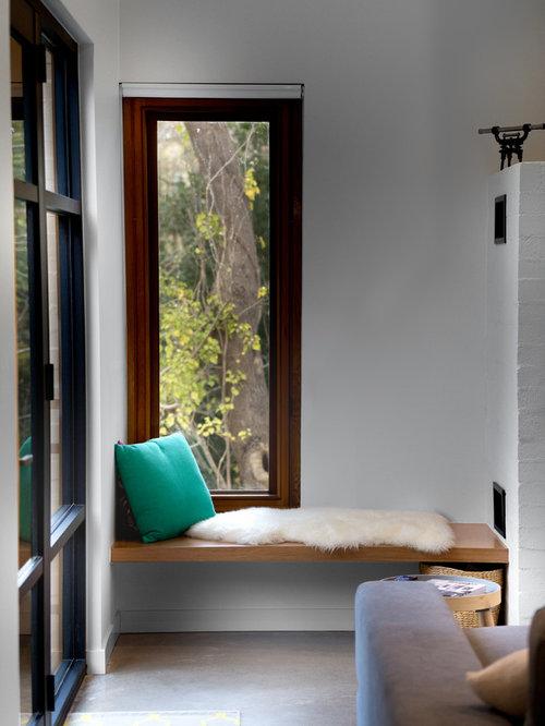Ideas para salas de estar | Fotos de salas de estar con estufa de ...