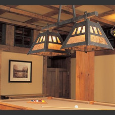 Traditional Family Room by Hammerton Lighting