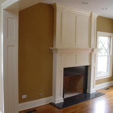 Traditional Family Room by Westlawn Construction Inc