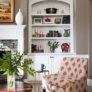 Craftsman Style Family Room
