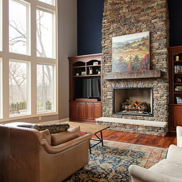 Creek Bend_Great Room with Fireplace