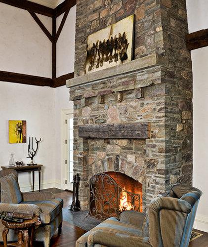 Crisp Architects Fireplaces: Weekend Getaway