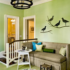 Lodge Eclectic Family Room Toronto By Design