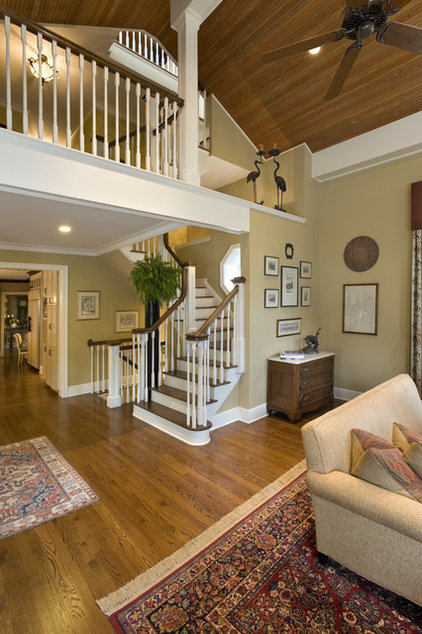 Traditional Family Room by Cross Keys Designs