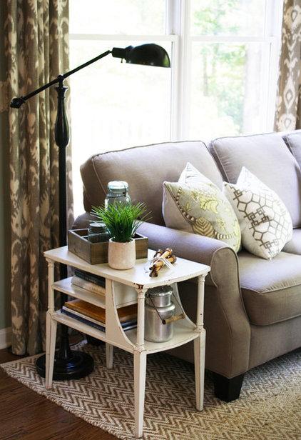 Traditional Family Room by Cristi Holcombe Interiors, LLC