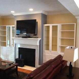 Curio Cabinet Fireplace Surround