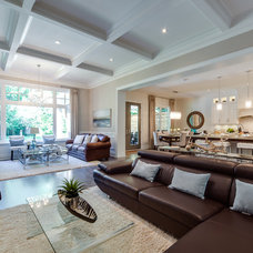 Contemporary Family Room by Lionsgate Design