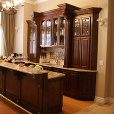 Traditional Family Room by Platinum Cabinetery
