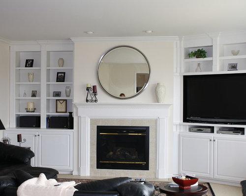 Built In Tv Cabinet Houzz
