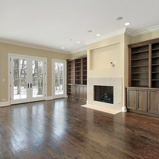 Traditional Family Room by AGM Renovations