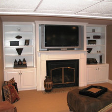 Traditional Family Room by NU IMAGE HOME IMPROVEMENT