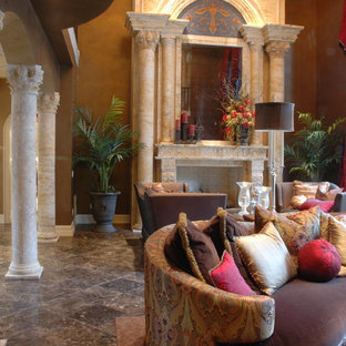 Custom Carved Stone Fireplaces