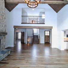 Farmhouse Family Room by Old World Classics, LLC.
