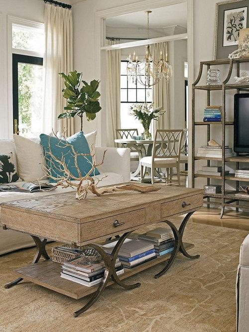 salle de s jour bord de mer avec une chemin e d 39 angle. Black Bedroom Furniture Sets. Home Design Ideas