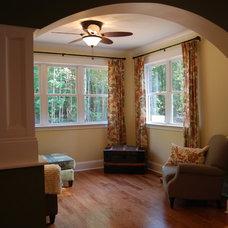 Traditional Family Room Custom Dream Home Built for a Family of 7