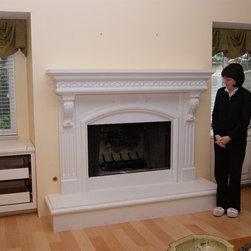 Custom Fireplace Mantels by Artisan Mantels -