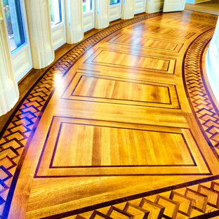 Custom Hardwood Flooring Project