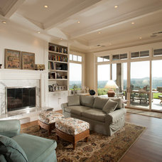 Traditional Family Room by Timeline Design