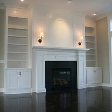 Traditional Family Room by Prestige Homes