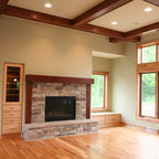 Hampton Home Traditional Family Room New York By
