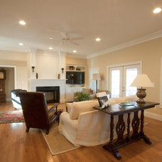 Traditional Family Room by Whitis Cabinets, Inc.