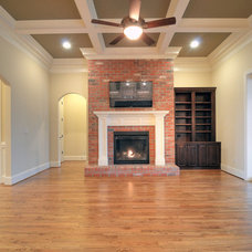 Traditional Family Room by Linnane Homes