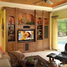 Traditional Family Room by Furniture Design Gallery Inc