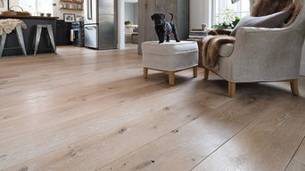 Custom Rustic White Oak Floors