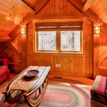 Custom Slopeside Ski Home