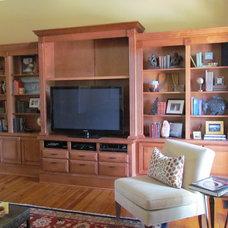 Traditional Family Room by Custom Wood Creations, LLC