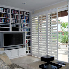 Traditional Window Blinds by French Brothers Custom Shutters