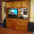 Bookcases and Fireplace Mantels - Traditional - Family Room - Atlanta - by Creative Cabinets and ...