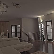 Contemporary Family Room My Condo - - Customized Living Room