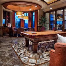 Contemporary Family Room Dallas/Ft Worth